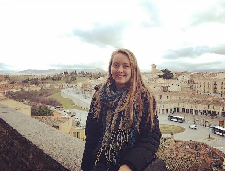 Nia MacFarlane Segovia Spain