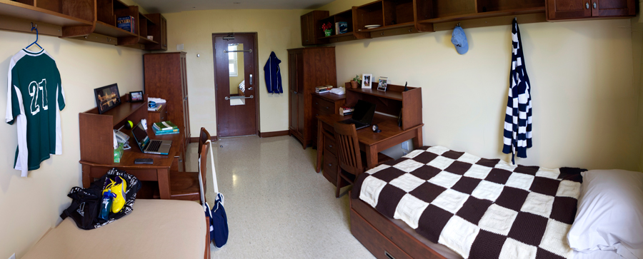 Traditional double room in residence at StFX