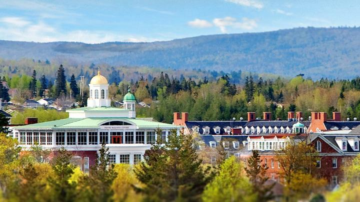 StFX campus in Antigonish